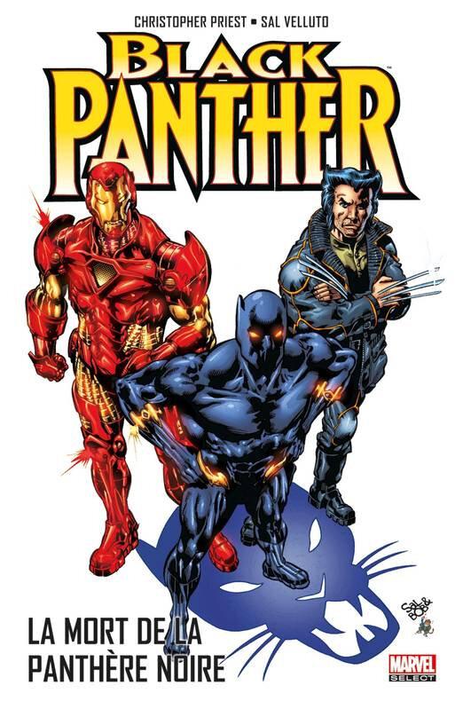 marvel select black panther 04 la mort de la panthère noire