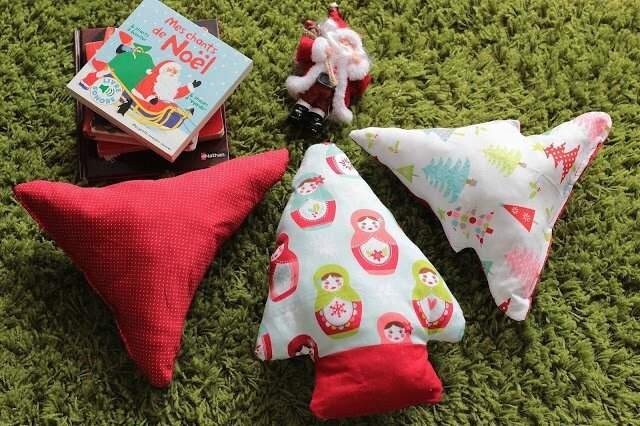 diy-sapin-noël-tissu-couture-coussin