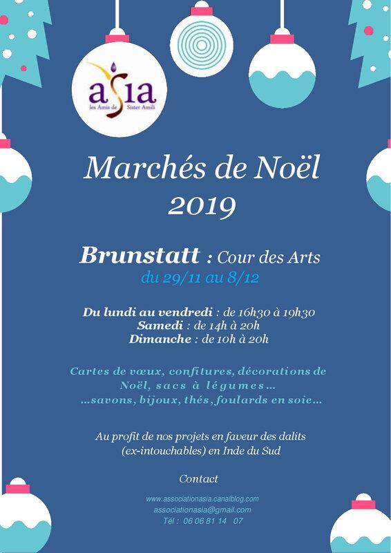 Marché de Noël Asia 2019-Brunstatt