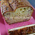 Cake lendemain de raclette