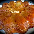 Gateau aux pommes facon tatin