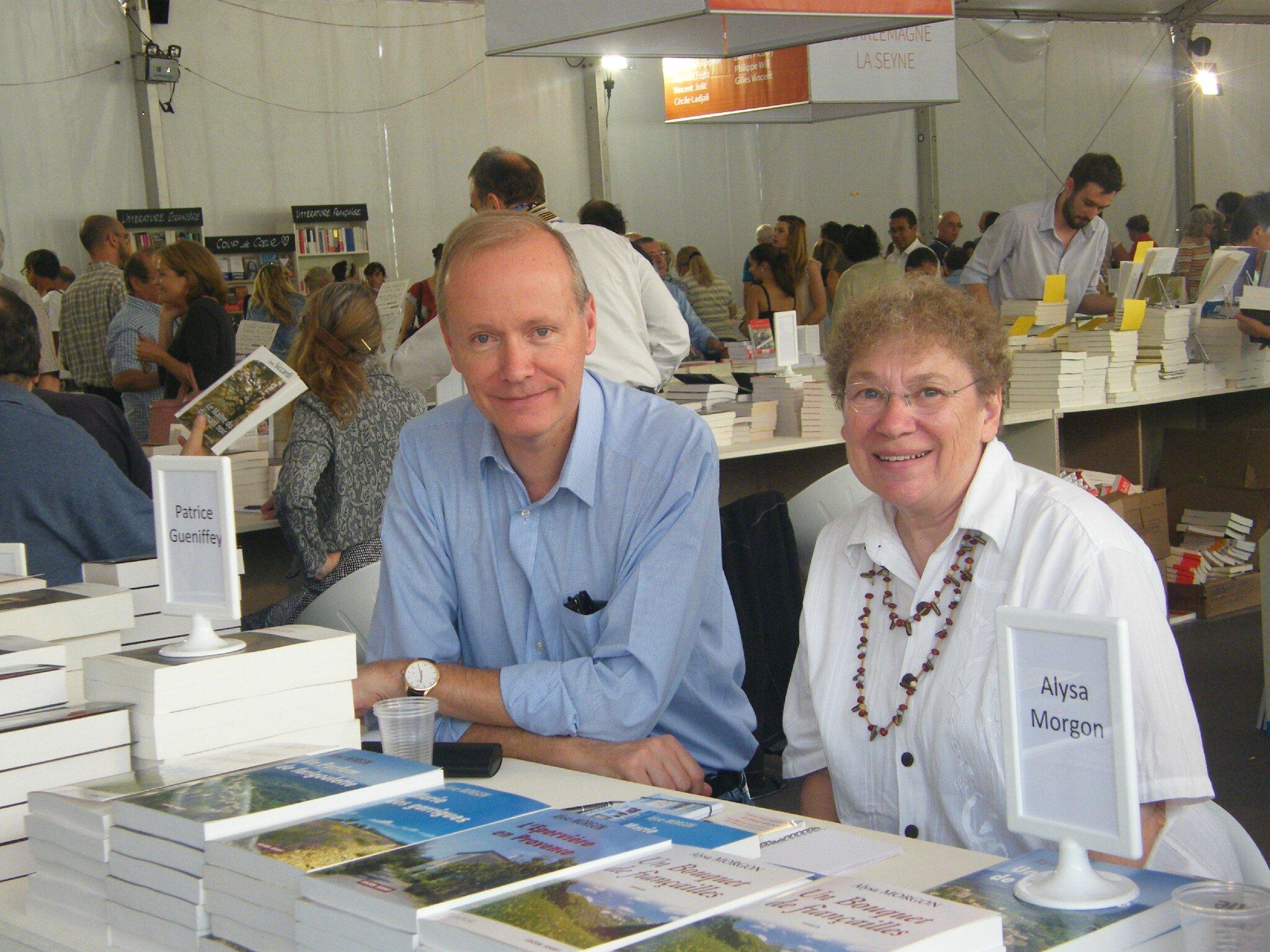 21 - Au salon du livre de Toulon, avec mon ami l'Historien et auteur Patrice Gueniffey