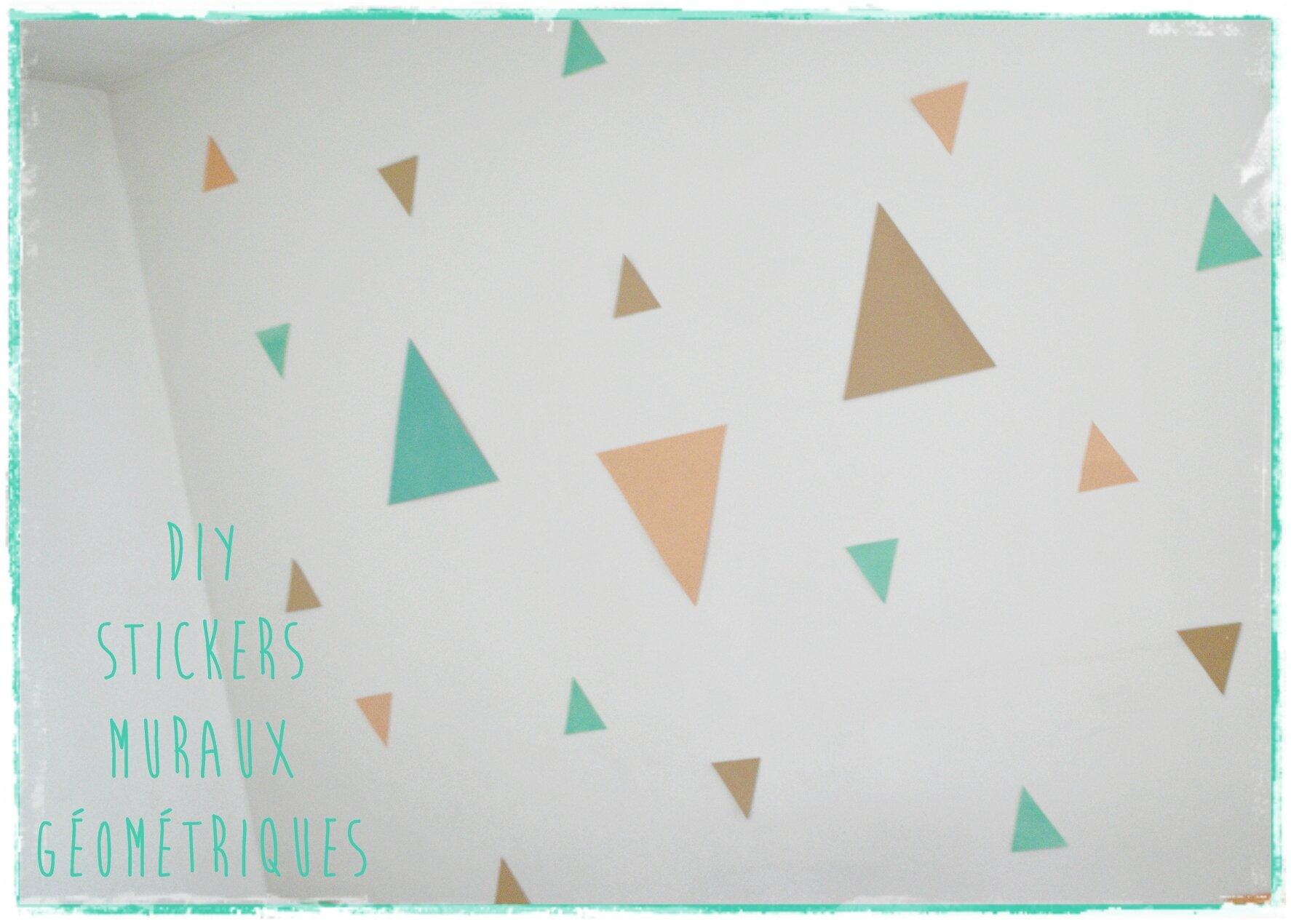 Faire des stickers formes géométriques