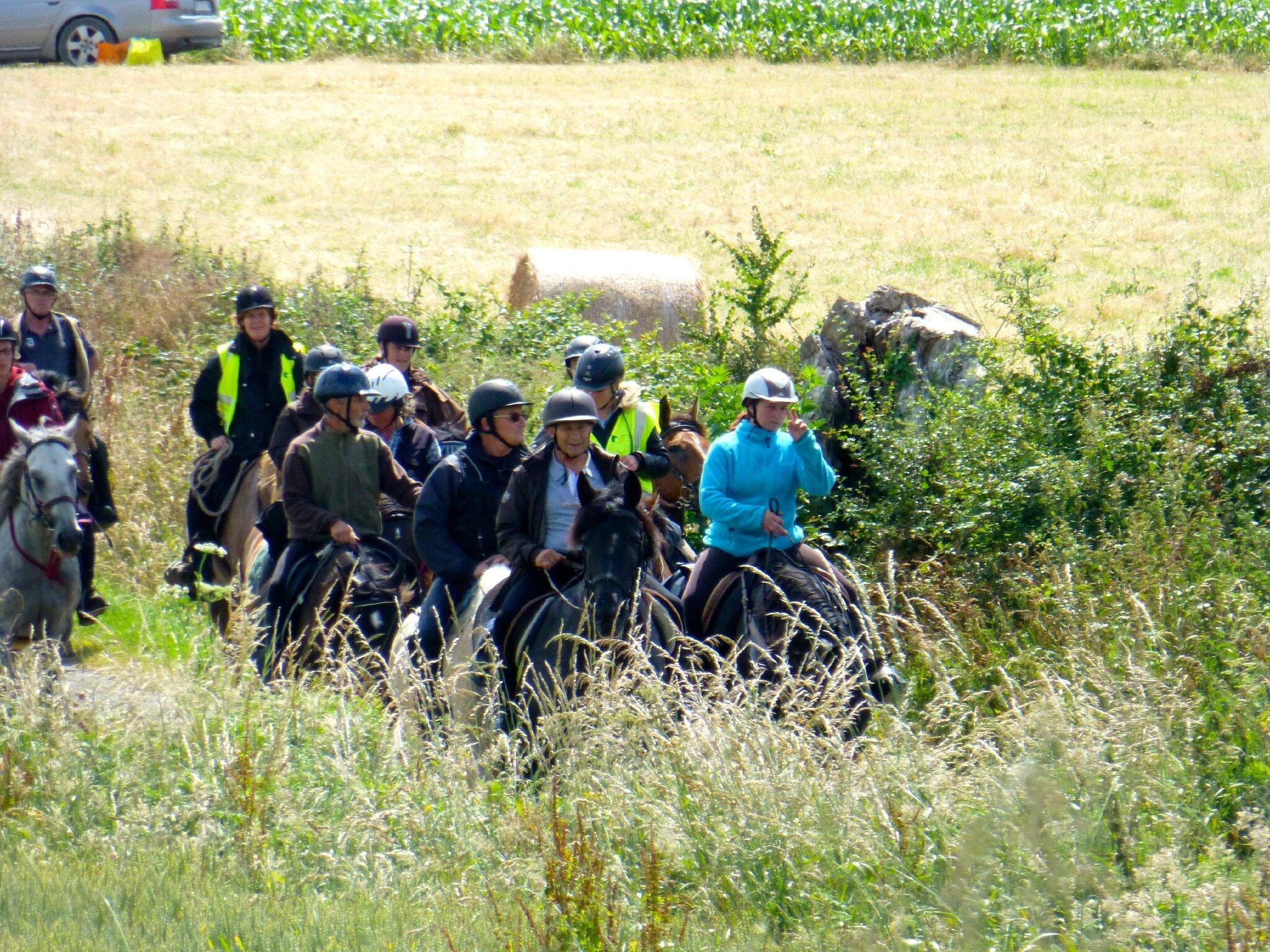 RandoBaie 2014 - balade équestre sur la piste des JEM (137)