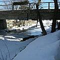 Le pont du joli village de knowlton