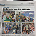 Paru dans la presse : la kermesse