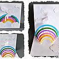 Article kirigami pop-up : la licorne pop-up et son modèle à découper de plateau à décorer