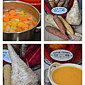 Soupe carottes, panais et racine persil1