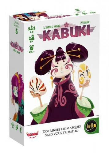 Boutique jeux de société - Pontivy - morbihan - ludis factory -Kabuki