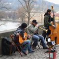 Jazz band sur le pont Charles