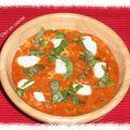 Risotto tomate-mozzarella