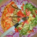 Tarte aux tomates courgettes