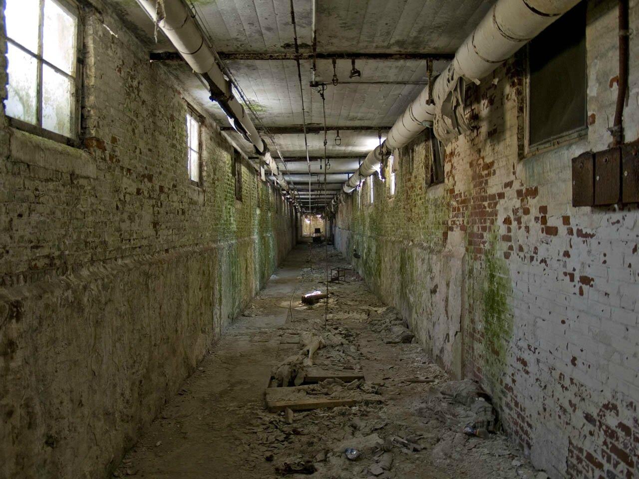 Un tunnel de l'hôpital de Norwich State