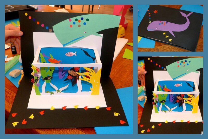 Atelier pop-up Carantec projet aquarium2