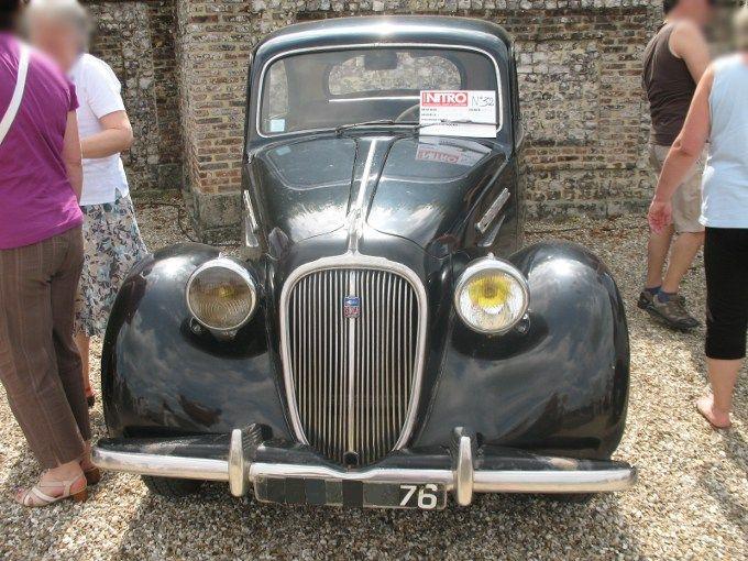 Étonnant Voiture Simca De 1950 A 1975 simca 8 série 2 (1950-1951) - autos-croisées