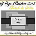 Défi Page Octobre 2012