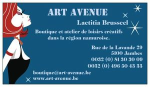art avenue carte visite