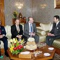IFM Managing Director congratulated Prince Moulay Rachid for continued efforts to reinforce social cohesion, a prerequisite to economic development. March 01, 2005