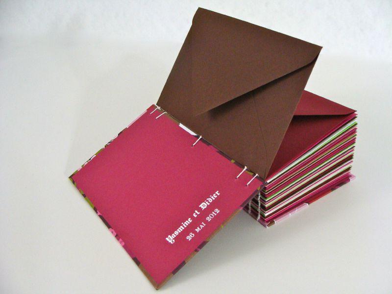 livre d'or enveloppes
