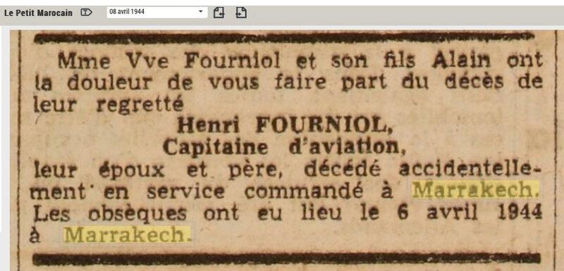 Henri-Fourniol-Accident-avion-avril-1944