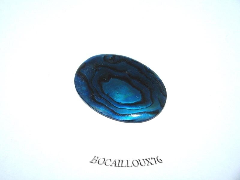CABOCHON 18x25 NACRE Pawa 9 - Pour CREATION
