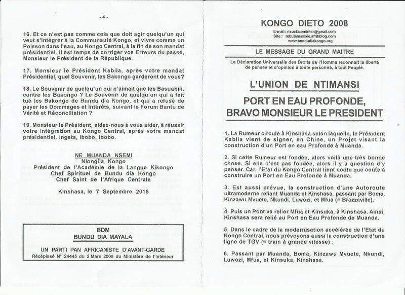 PORT EN EAU PROFONDE BRAVO MONSIEUR LE PRESIDENT a