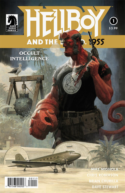 dark horse hellboy and the BPRD 1955 occult intelligence 01