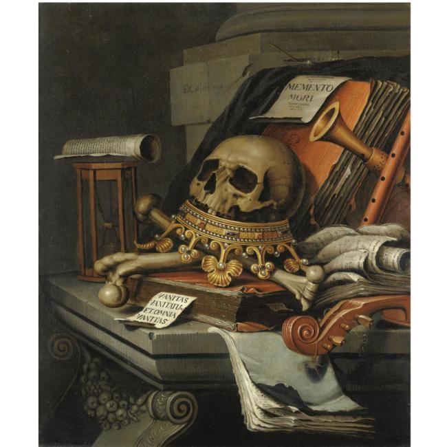 Edwaert Collier (Breda active befoire 1663 - 1708 Leident (?)),