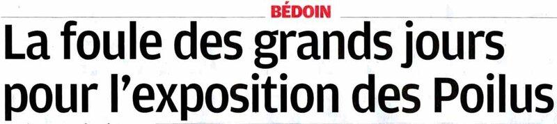La Provence du 7 novembre 2014
