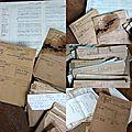 Dammartin centre, vieux papiers