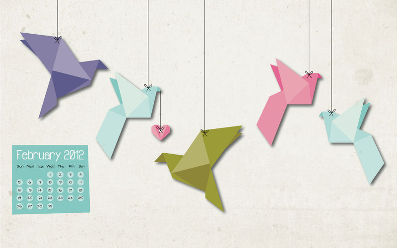 february_desktop_wallpaper_background_paper_origami_birds_thecarolinejohansson1680x1050