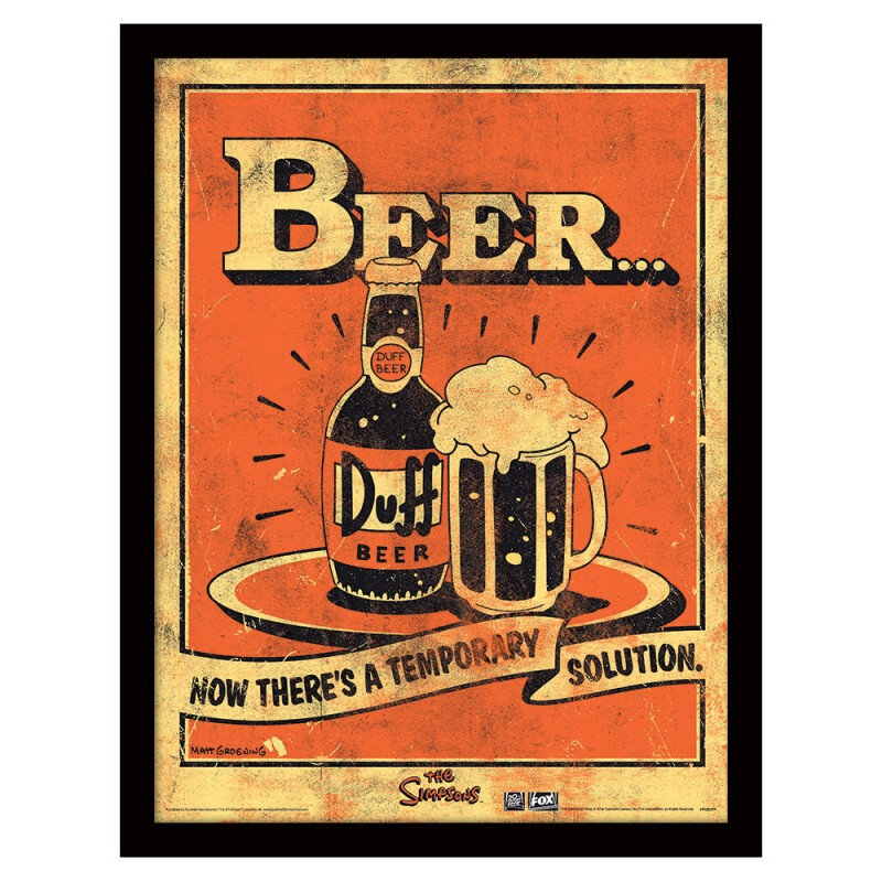 cadre-the-simpsons-duff-beer