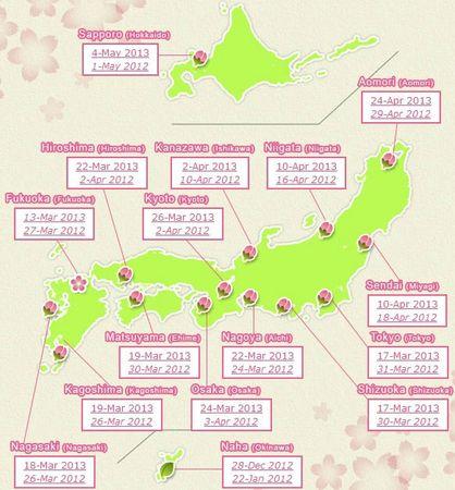 hanami_2013_-_carte_floraison_cerisier_japon