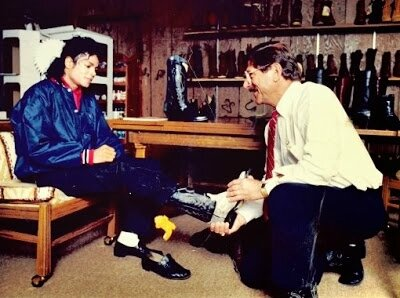 botas dirty diana michael jackson