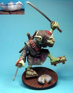 Ninja Gobelin peint par Corpuscule 02