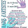 Expo mains d'artistes à angles sur l'anglin