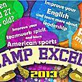 Un camp de vacances américain à antsirabe avec l'association excell