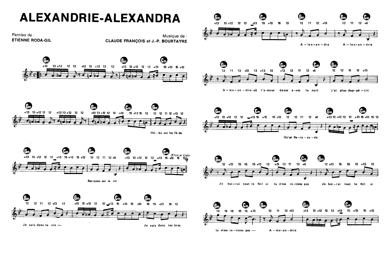 alexandrie alexandra gratuit