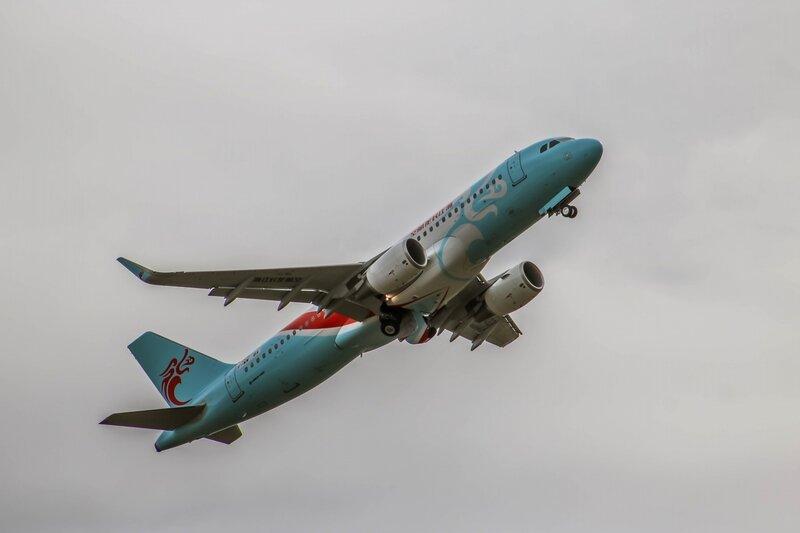 Airbus A320 de Loong Air