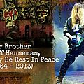 Jeff hanneman - slayer - passed away - may he rest in peace !!!