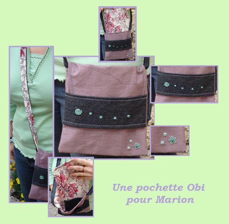 Le sac Obi de Marion