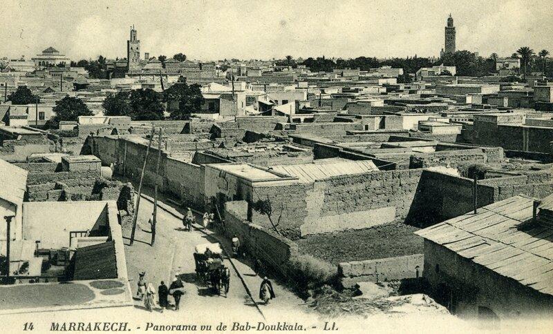 14LL-34-MARRAKECH-Panorama vu de Bab-Doukkala
