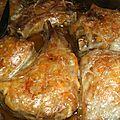Côtes d'agneau matignon