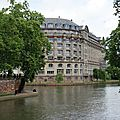 Strasbourg iv: quartier des universités et jardin des deux rives (garten der zwei ufer)