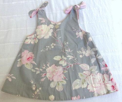 Robe à bretelles (2 ans)