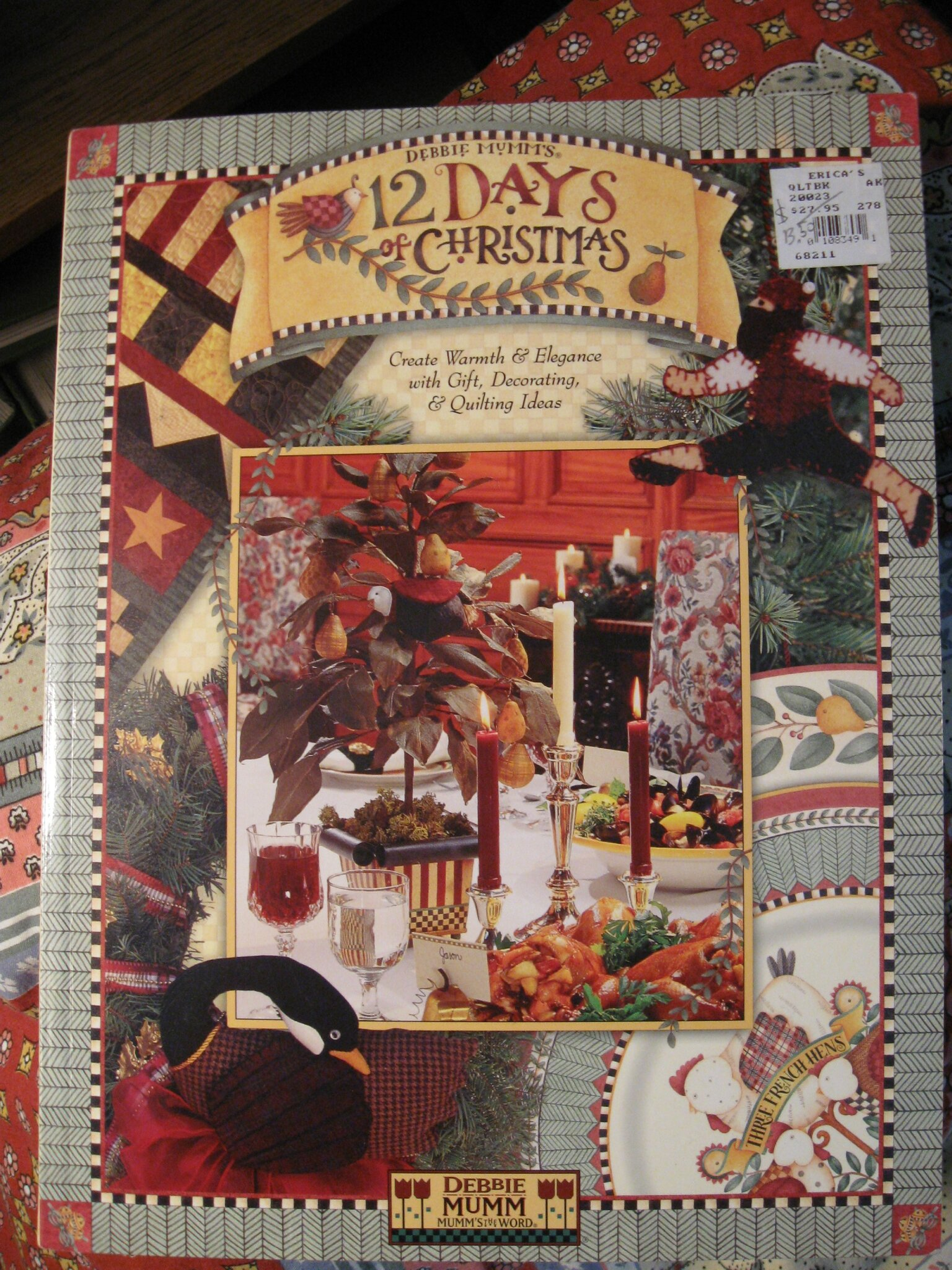 DEBBIE MUMM -12 DAYS TO CHRISTMAS