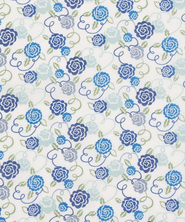 Ribbon Bloom blue