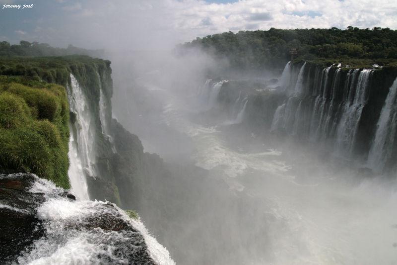 Rio Iguazù depuis la Gorge du Daible