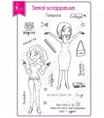 tampon-transparent-scrapbooking-carterie-personnage-serial-scrappeuse