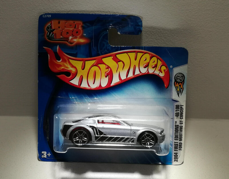 Ford Mustang GT Concept (Hotwheels)
